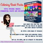 Coloring Book Packs With Commercial Rights
