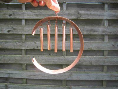 C shaped windchime