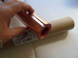 Copper foil half roll