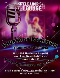 Karaoke Thursday @ Bohemia | New York | United States