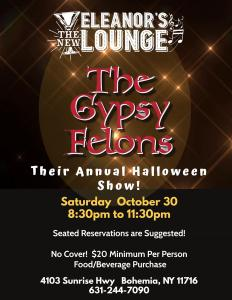 The Gypsy Felons Halloween Show