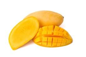 11690494 - yellow mango isolated on white background