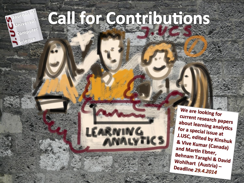[CfP] Learning Analytics