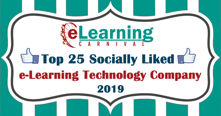 Top 25 Socially Liked e-Learning Technology Companies.