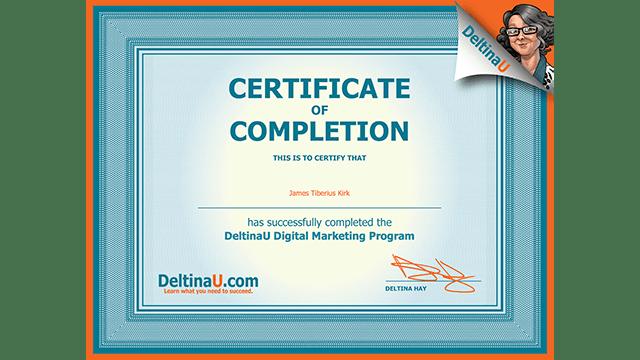 Certificate Program 1