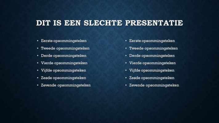 PowerPoint maken