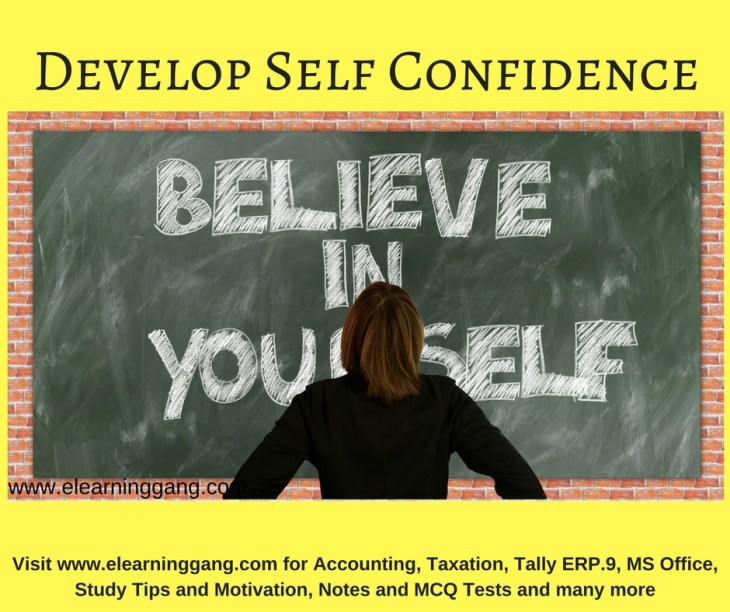 Low self confidence? Learn to Develop Self Confidence