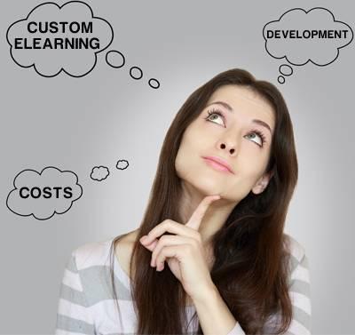 Cost of Custom eLearning Content Developmen