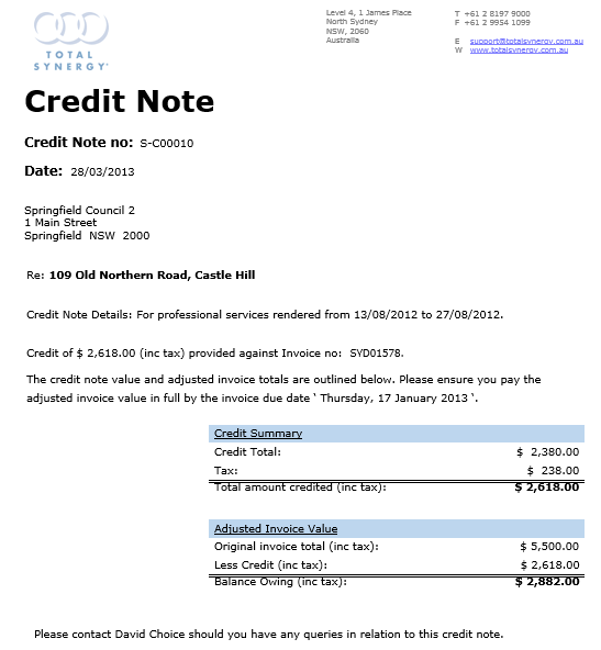 05 sales credit note half 06 sales credit note half credit note – Credit Note Templates