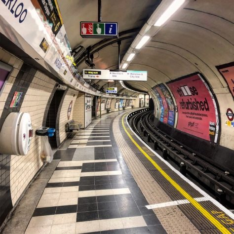 Waterloo Tube Station