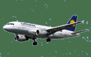 Lufthansa transaprent