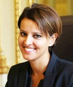 French Minister of Education Najat Vallaud-Belkacem
