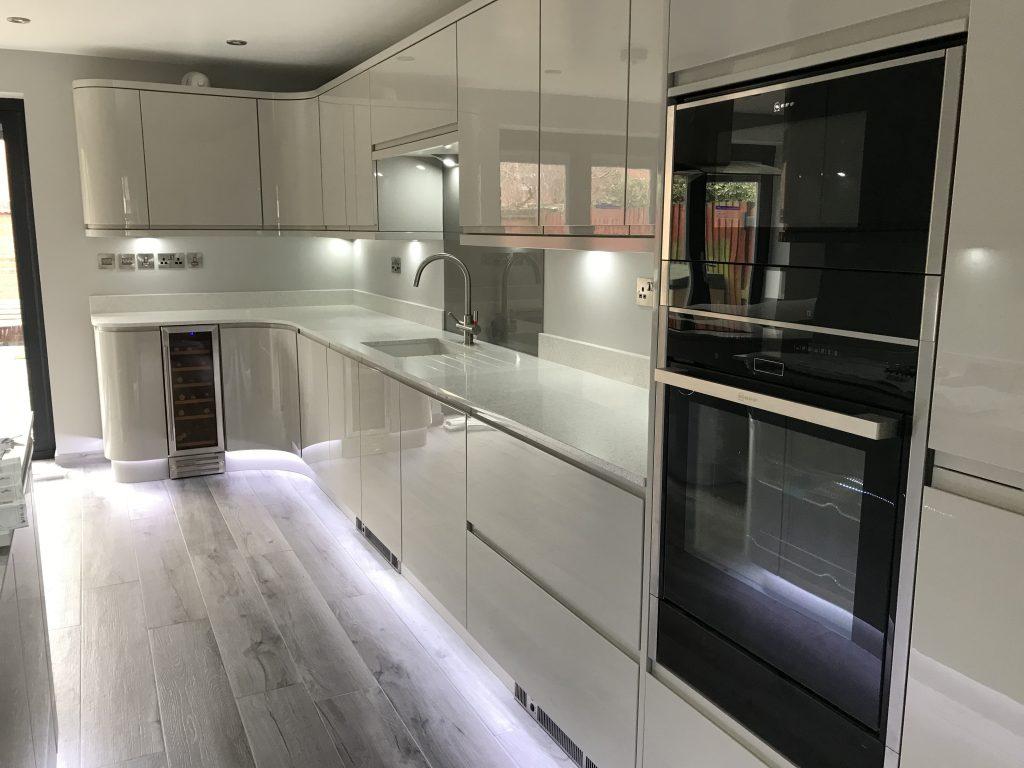 Kitchen rewires in Derby
