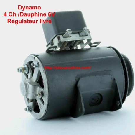 Dynamo Ducellier 7181b 6v Pour Renault 4cv Dauphine