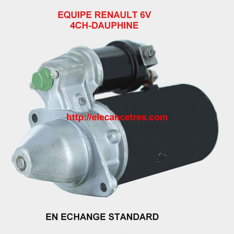 Demarreur Ducellier 6010 Ou Paris Rhone D8e32 6v Pour Renault