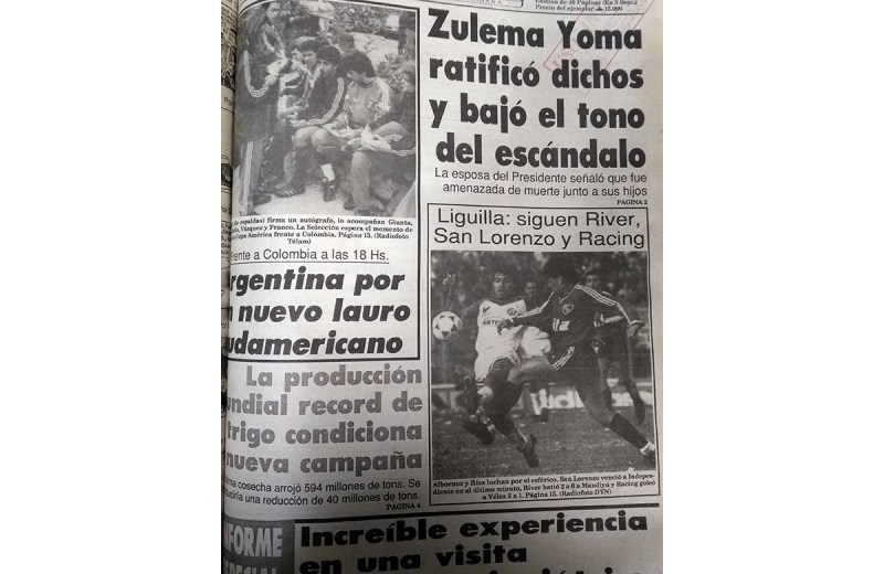 Lunes 22 de julio de 1991