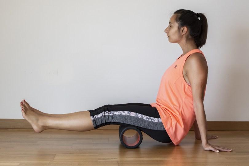 Exercícios com Foam Roller