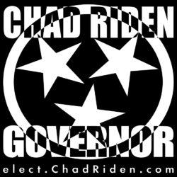 Elect Chad #RiDEN4TN Governor
