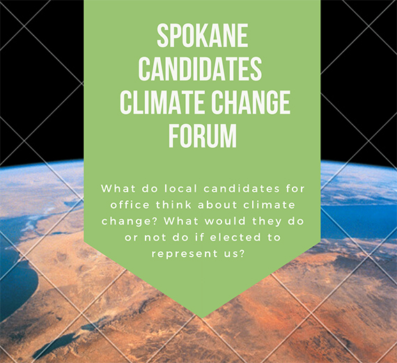 Gonzaga University Climate Change Forum