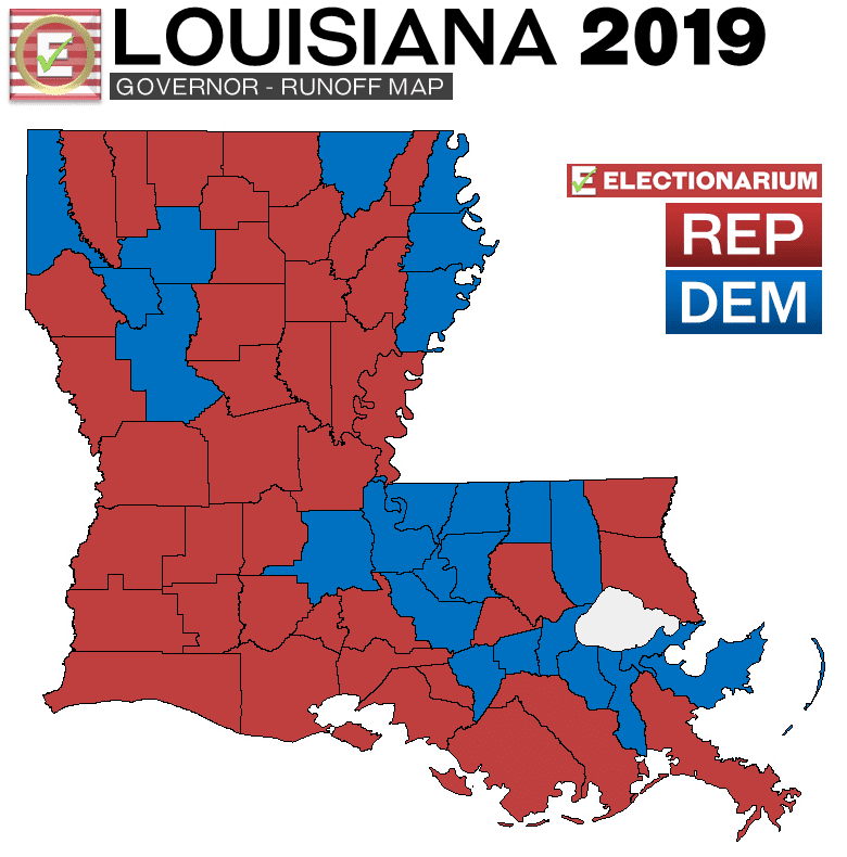 louisiana governor election results 2020