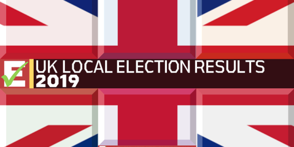2019 UK Local Election Results