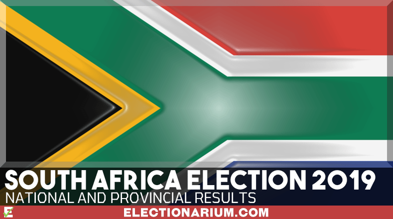 South africa election results by province