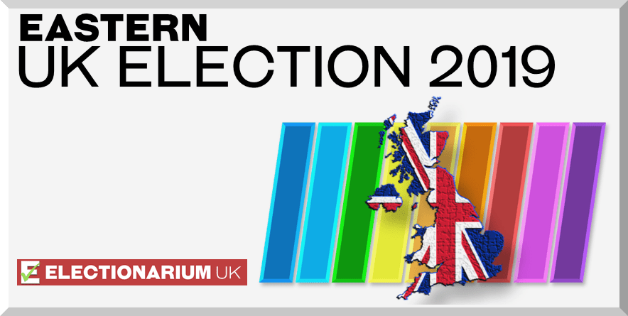Eastern England 2019 Election Results and Predictions