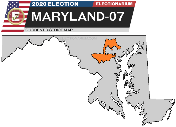 Maryland 7th District map