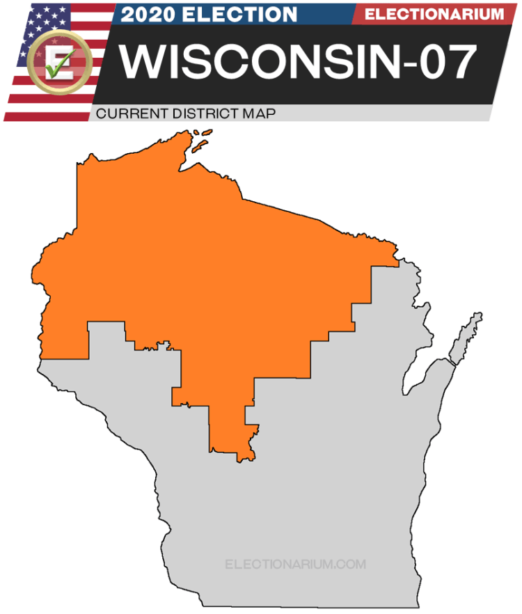 Wisconsin 7th District map