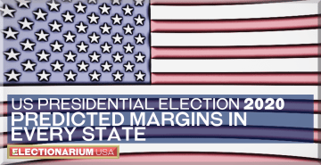 2020 US Presidential Election: Ranking the States by Margins