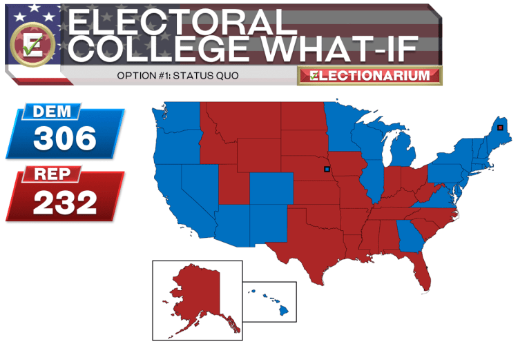 Electoral College Reform Option 1 No Change