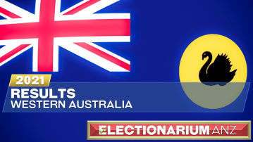 2021 Western Australia Election Results