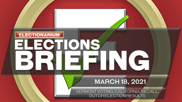 Elections Briefing, March 18, 2021: Vermont, California Recall, Dutch Election