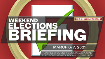 Weekend Elections Briefing, March 6-7, 2021: Gwinnett County, Louisiana, Newfoundland