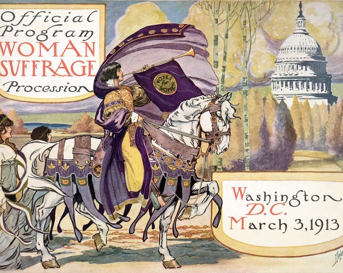 The Official Program for Women's Suffrage