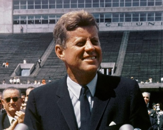 JFK, the most well-known member of the Kennedy family.