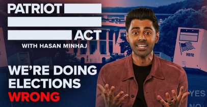 """Patriot Act with Hasan Minaj - """"We're Doing Elections Wrong"""" Episode"""