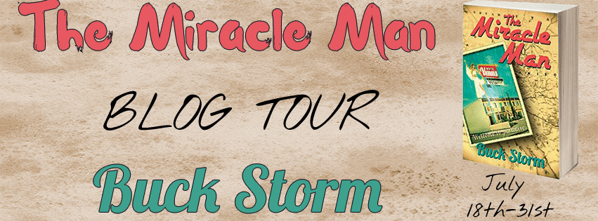 The Miracle Man Blog Tour Banner