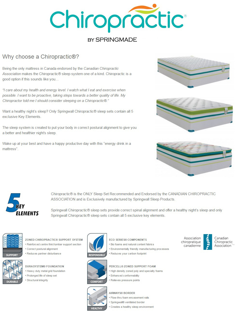 double chiropractic single king pocket bed latex euro spring mattress mattresses top chiropractor queen recommended