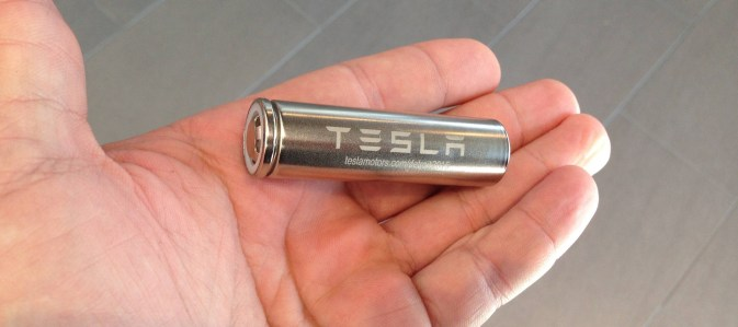 Tesla battery cells