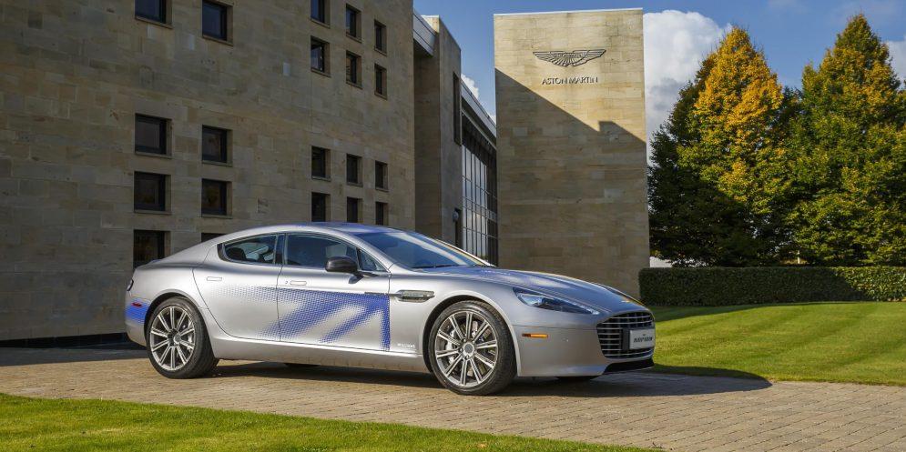 Electric Aston Martin Rapide E
