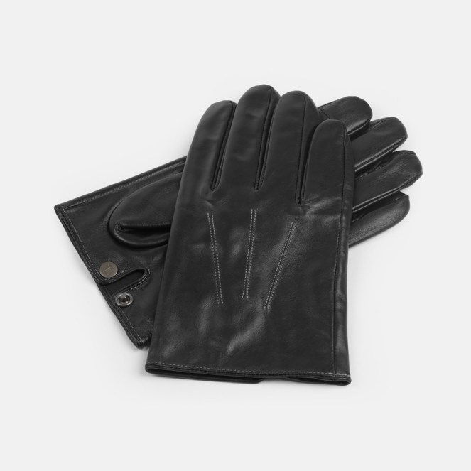 Tesla leather gloves 1
