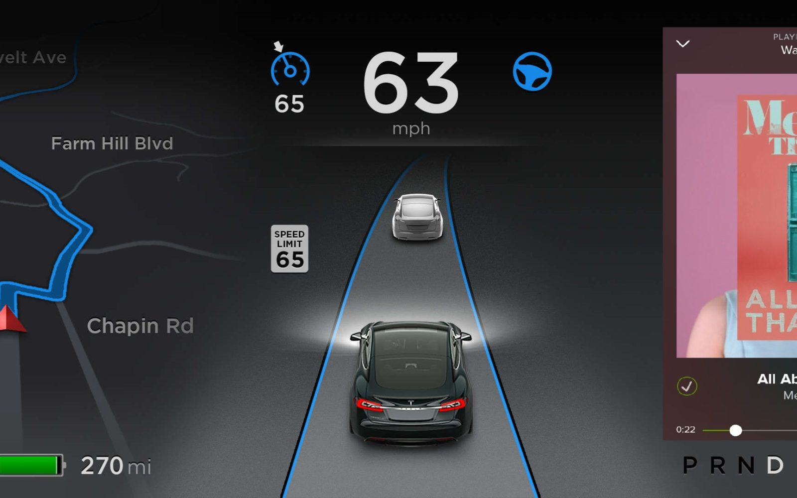 Tesla and Spotify release an app for the Model S via OTA ...