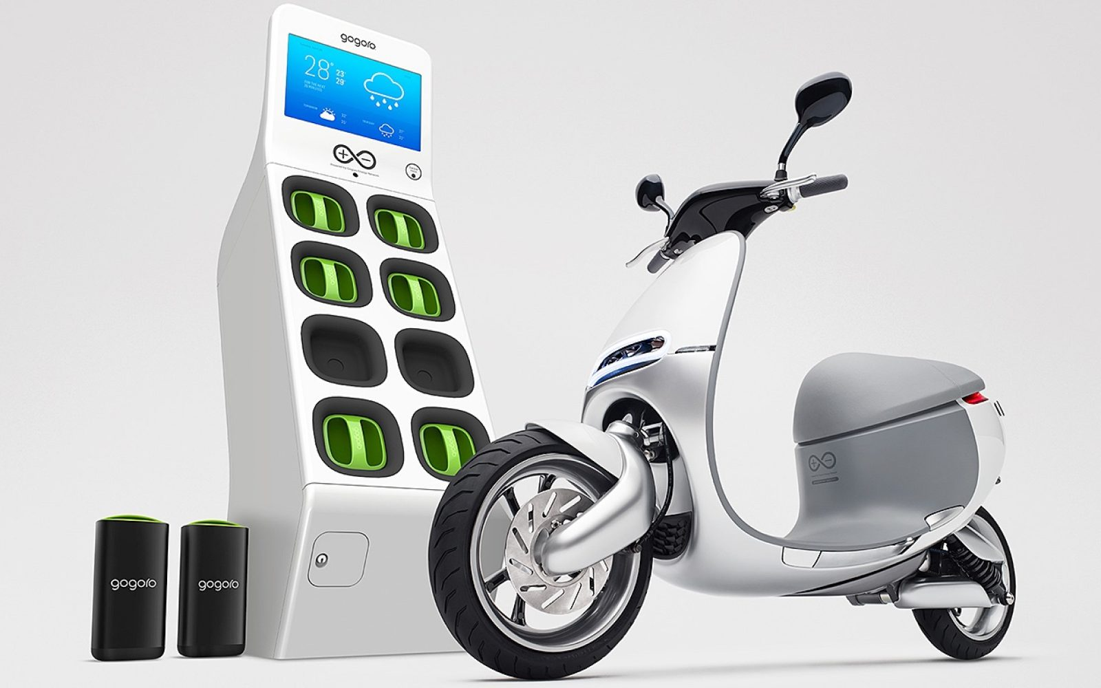 Gogoro Scooter And Battery Swap Distribution Model Get