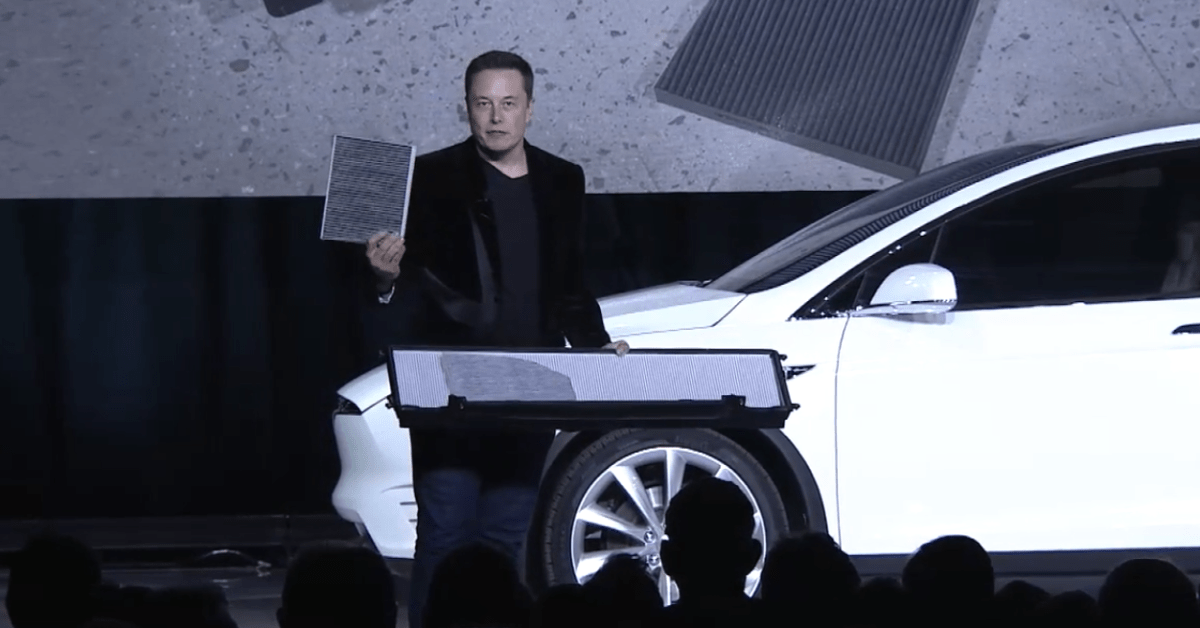 Elon Musk ponders Tesla making a home HVAC, may even advertise car air purification system - Electrek