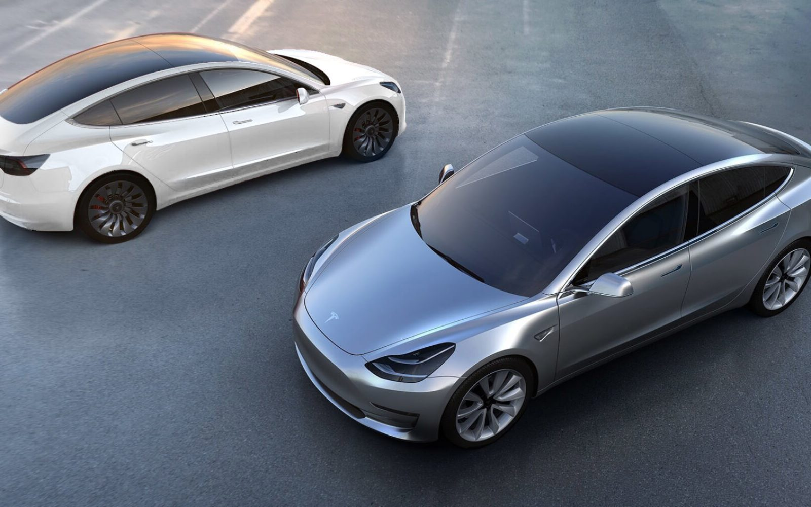 tesla model 3 renderings with a bunch of new paint jobs gallery