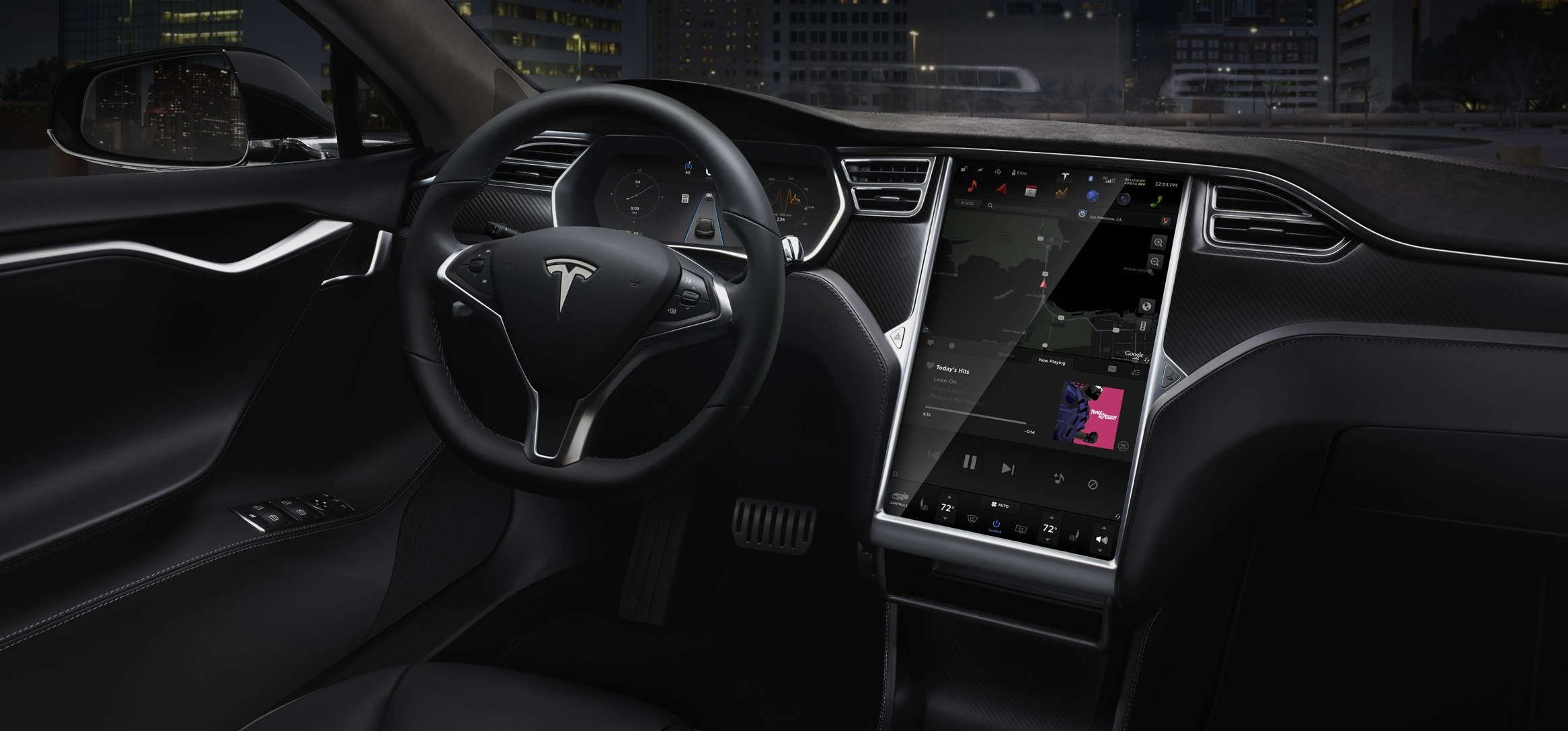 Tesla update 8.0