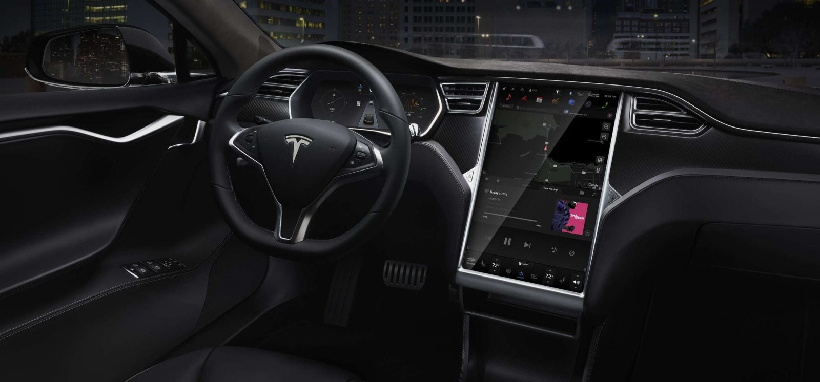 Tesla is updating its maps and navigation with open source
