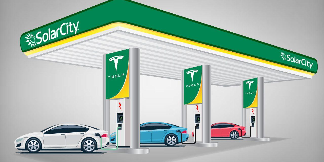 Tesla owns solar city