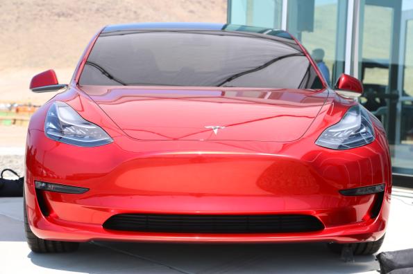 Model 3 red 6